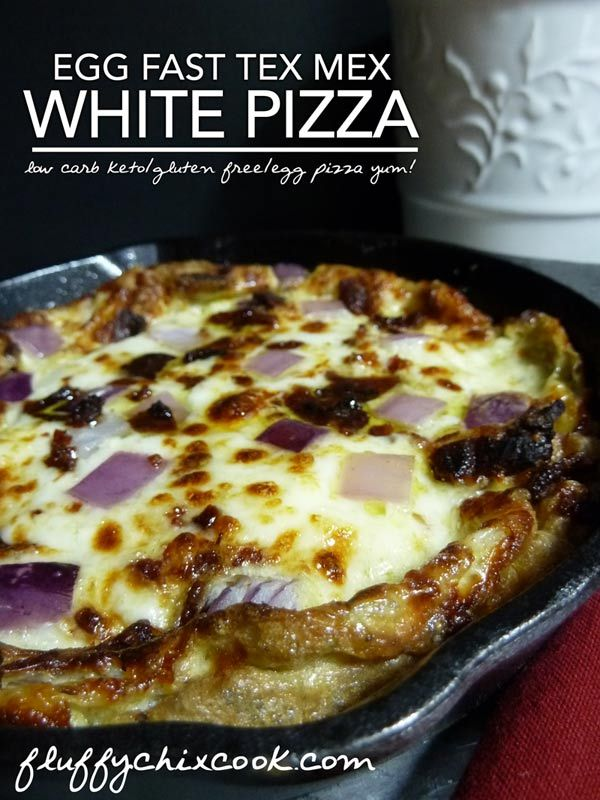 Low Carb Tex Mex White Pizza Recipe