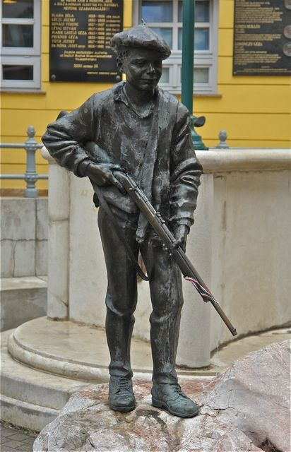 In memorial of the 1956 revolt. Photo:T.Graffe
