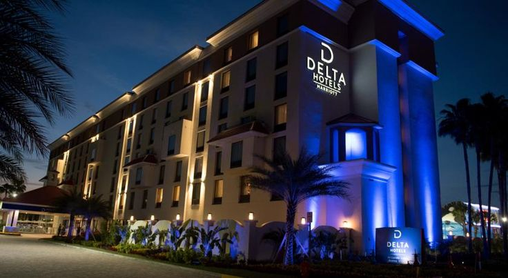 Delta Hotels by Marriott Orlando Lake Buena Vista Orlando Located in Lake Buena Vista, Florida, this hotel features free transfer service to Walt Disney World Parks. It offers an on-site restaurant, an outdoor pool, and free WiFi access.  An HD TV is included in each room at Delta Orlando Lake Buena Vista.