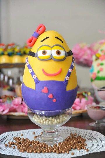 Brasil egg minion chocolate easter