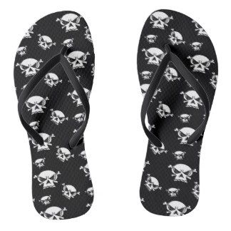 Skull Boys Flip Flops by Khoncepts