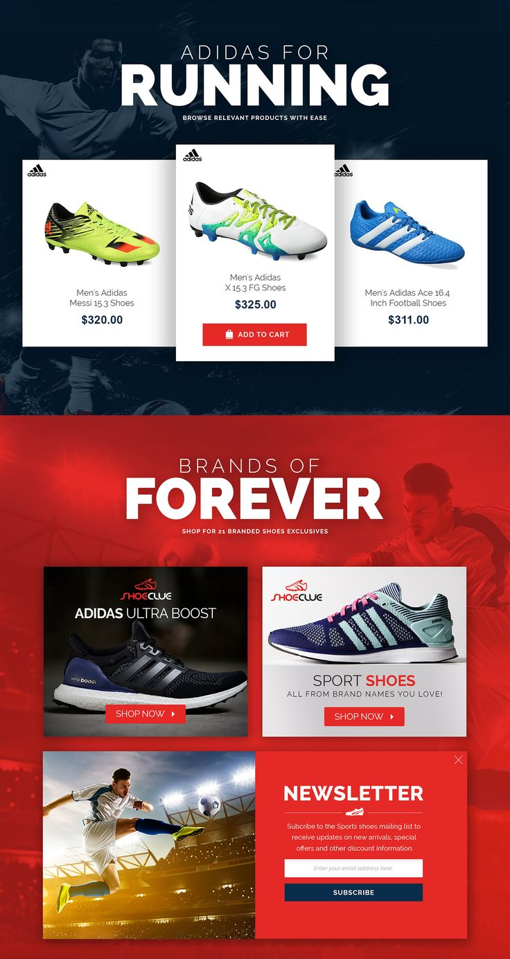 The goal was to create unique branding and provide eCommerce platform where they can sell the world top class shoe brands and define the stories of top sport players, It is not a only traditional eCommerce website, It is for sport & brand lovers. Since da…