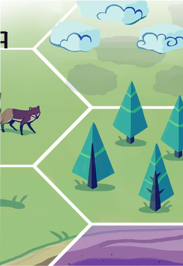 The Nitrogen Cycle game helps you learn how nitrogen atoms move through various forms including soil, the atmosphere, plants and animals. Actions such as lightening, bacteria digestion, plant assimilation, plant death, animal death, herbivorism and nitrogen fixing plant bacteria move nitrogen from one form to another.