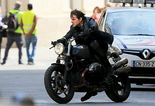 M.A.A.C.   –  MCQUARRIE Returns To Direct MISSION: IMPOSSIBLE 6 Starring TOM CRUISE. UPDATE: On-Set Image