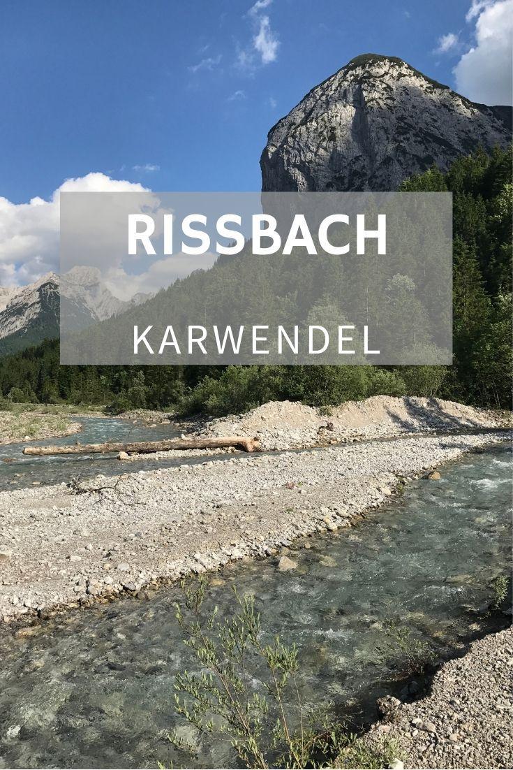 Wunderschoner Bach Der Aus Der Eng In Die Isar Zum Sylvensteinsee