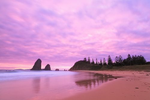 Glasshouse Rocks, Narooma, New South Wales  #landscape #seascape #sunrise