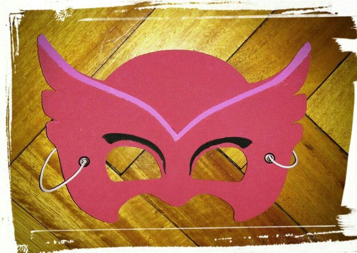 Antifaz Souvenir Infantil Pj Masks Heroes En Pijama X 10unid ...