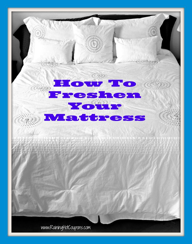 How To Freshen Your Mattress ~ Says: Using this method can not only save you money on hefty mattress maintenance fees, you can do this on a regular basis to insure your mattress is as clean as possible.