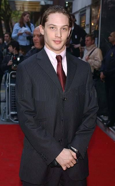 Tom Hardy at the premiere of The Football Factory, in London, 2004.