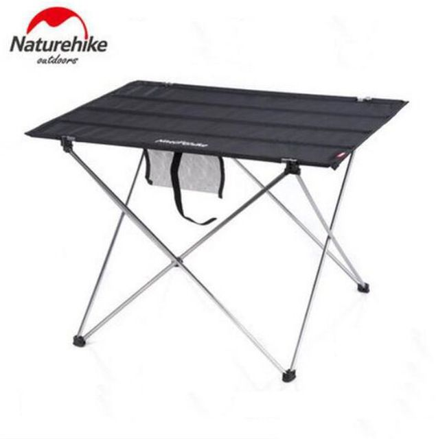 Naturehike Outdoor Portable Picnic Table Aluminium Alloy Table Outdoor Foldable Table Fishing Leisure Table