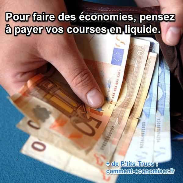 Heureusement, il existe une astuce vraiment facile pour faire quelques économies tous les jours. Je la mets en pratique au quotidien pour faire des économies, et je peux vous assurer que ça marche à tous les coups.  Découvrez l'astuce ici : http://www.comment-economiser.fr/faire-des-economies-d-argent-en-payant-en-liquide..html?utm_content=buffer5b3d8&utm_medium=social&utm_source=pinterest.com&utm_campaign=buffer