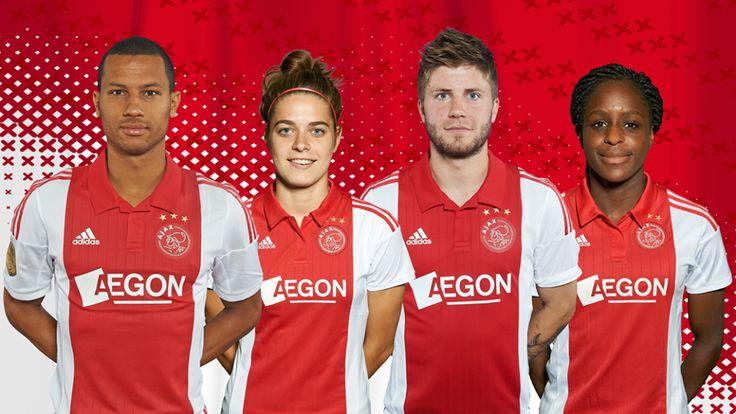 Met trots stellen we jullie voor aan de nieuwe columnisten van de #Ajax Nieuwsbrief: Ricardo van Rhijn, Tessel Middag, Lasse Schöne & Liza van der Most!
