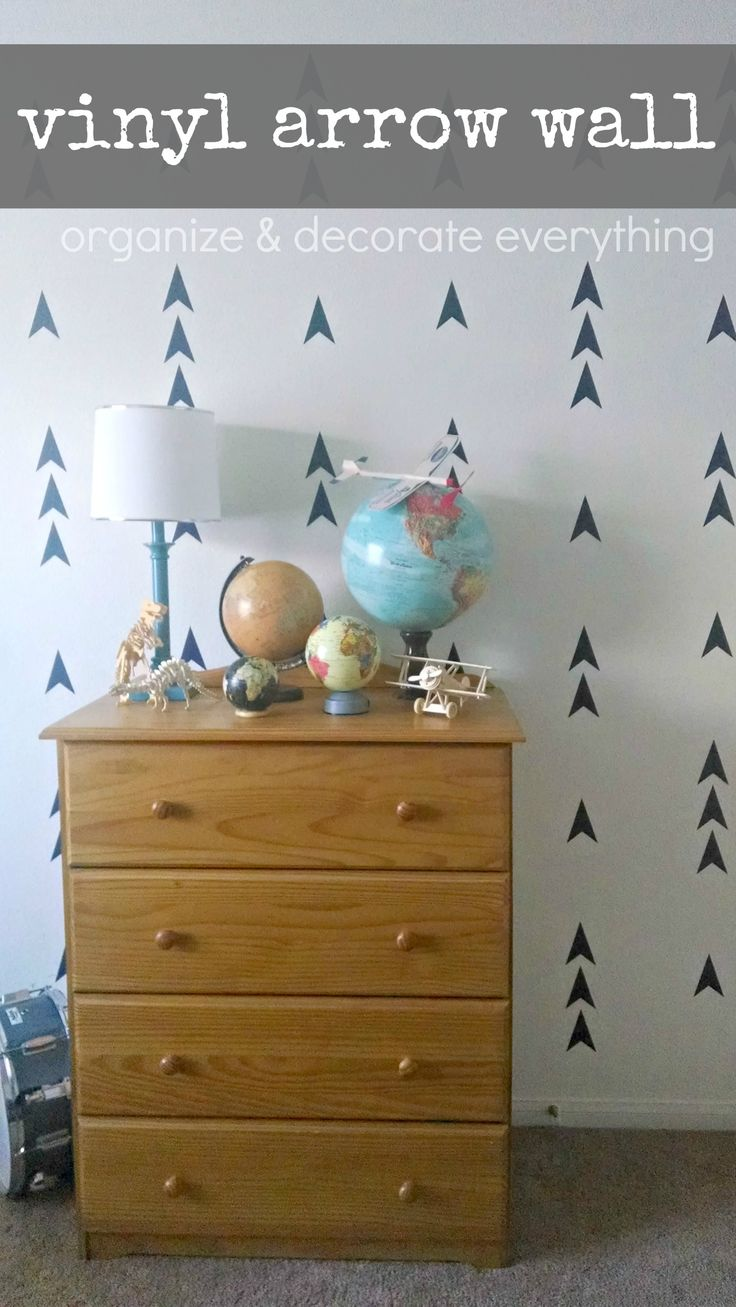 Decorate the wall - Vinyl Arrow Wall Organize And Decorate Everything