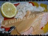 Saumon en habit rose au Micro Vap' de tupperware