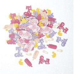 Baby pige konfetti 25 kr
