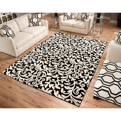 Terra Vintage Black & Ivory Rug: Walmart Com, Living Rooms, Zebra Rugs, Area Rugs, Vintage Black, Bedroom, Black Ivory