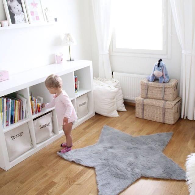 Esta alfombra en forma de estrella dar un toque de - Alfombra habitacion bebe ...