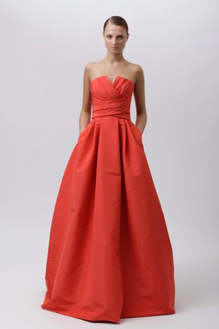 i need this in my life.Monique Lhuillier, Wedding Dressses, Pocket, Coral, Style, Bridesmaid Dresses, Colors, Gowns, Lhuillier Resorts