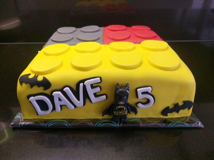 Lego Batman taart