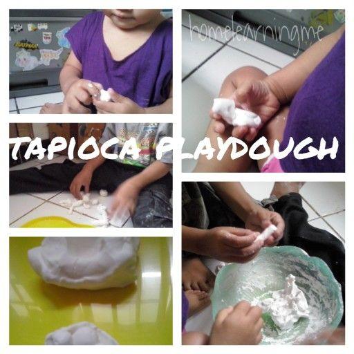 Playdough dari tepung tapioka