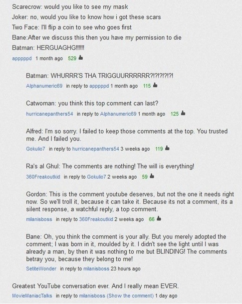 funniest YouTube comments of all time? - Quora