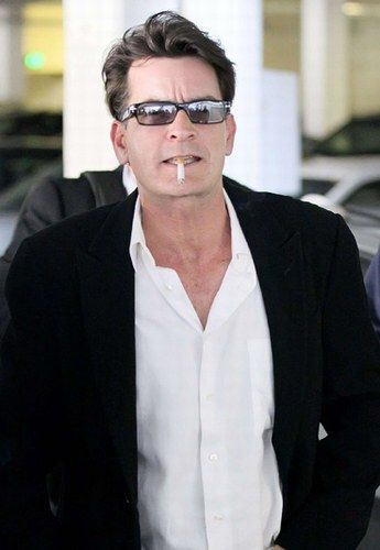 Charlie Sheen, man of the ages.