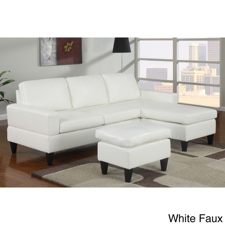reversible allinone sectional sofa cocoa microfiber reversible all in one sectional brown faux leather