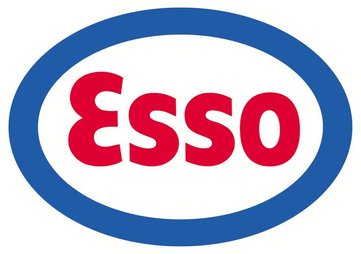 Exxon Gas was Esso for most of my childhood...Google Image Result for http://upload.wikimedia.org/wikipedia/commons/9/9f/Logo_Esso.gif