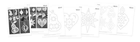 Happythought Holiday craft activity pack: Reindeer mask templates and instructions!