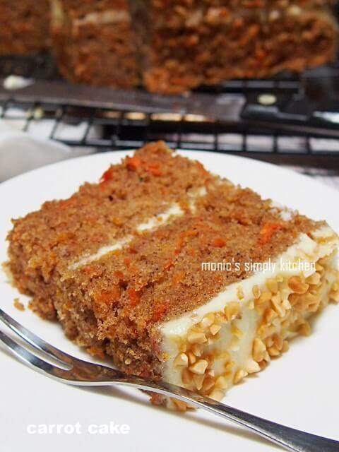 Carrot Cake Kue Wortel Makanan Kue Mentega