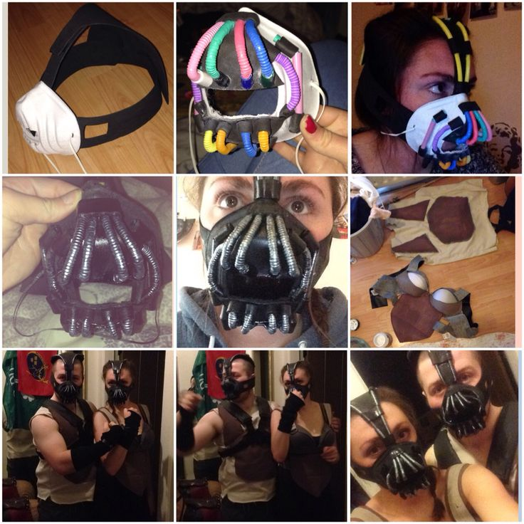 Process of making my Bane costumes! #Bane #Batman