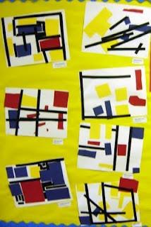 Collages Mondrian