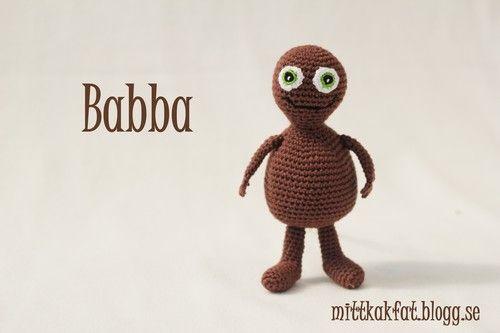 Mitt kakfat - Babba virkmönster
