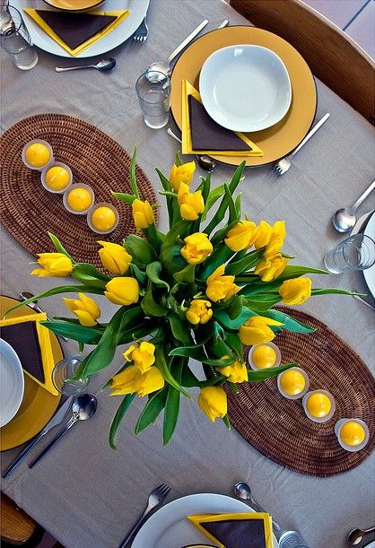 Easter Table Decorations 40