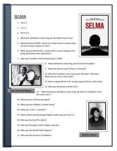 Selma is a 2014 American historical drama film directed by Ava DuVernay and written by Paul Webb. It is based on the 1965 Selma to Montgomery voting rights marches led by James Bevel, Hosea Williams, Martin Luther King, Jr., and John Lewis. The film stars actors David Oyelowo as King, Tom Wilkinson as President Lyndon B. Johnson, Tim Roth as George Wallace, Carmen Ejogo as Coretta Scott King, and rapper and actor Common as Bevel.