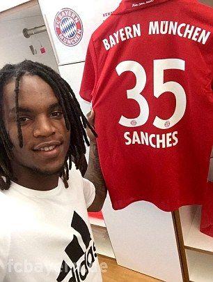 Renato Sanches (POR) - From Benfica (POR) to Bayern Munich (GER) - £28million - 2016