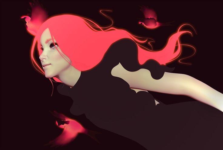 Digital illustrations by Cezar Brandao