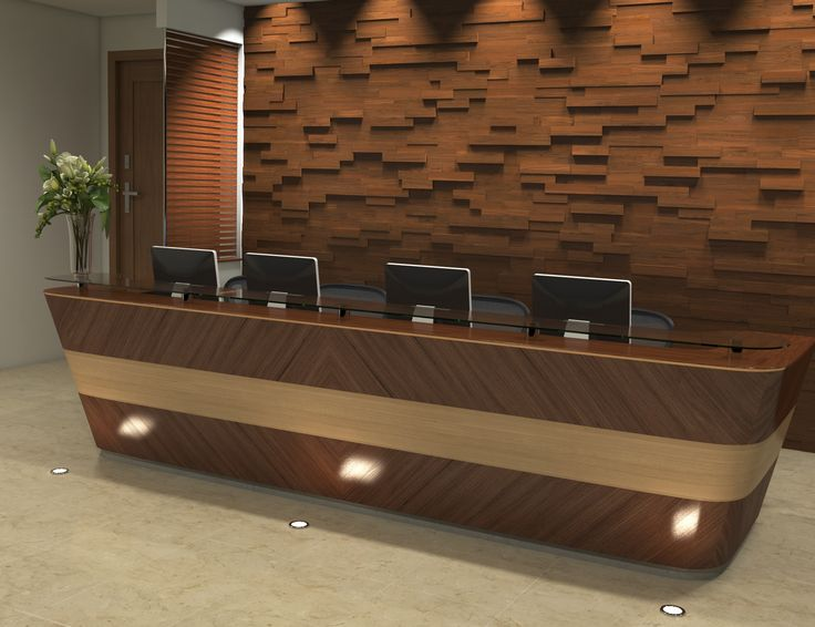 Commercial 3D wood wall panels