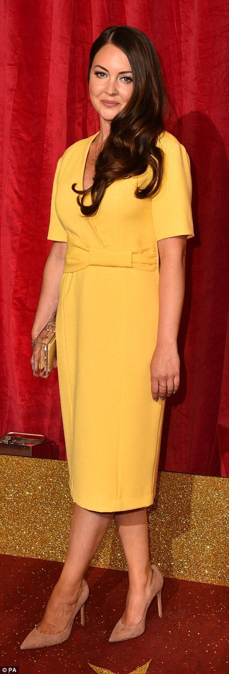 Lacey Turner - Stacey Fowler on Eastenders - at the British Soap Awards 2016  | Daily Mail Online