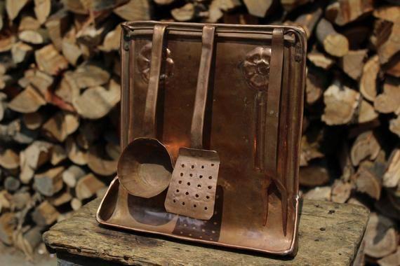 Conjunto de herramientas de mano de herramientas de cocina de cobre