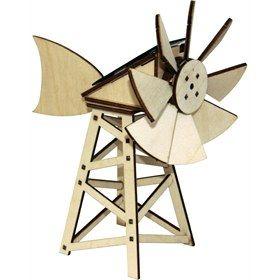 Bouwpakket Amerikaanse windmolen Solexpert educatief speelgoed
