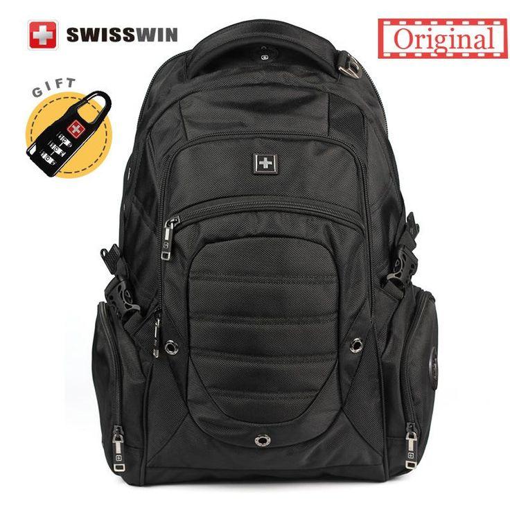 """Swiss Backpack Multifunctional Waterproof 15"""""""