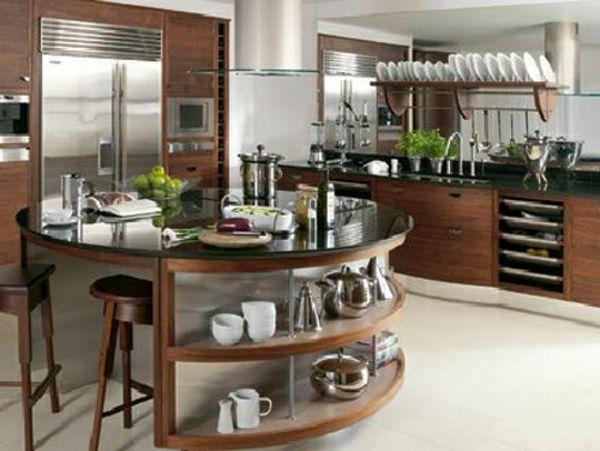 Yli tuhat ideaa Küchen Design Holz Pinterestissä Cooles - essecken für küchen