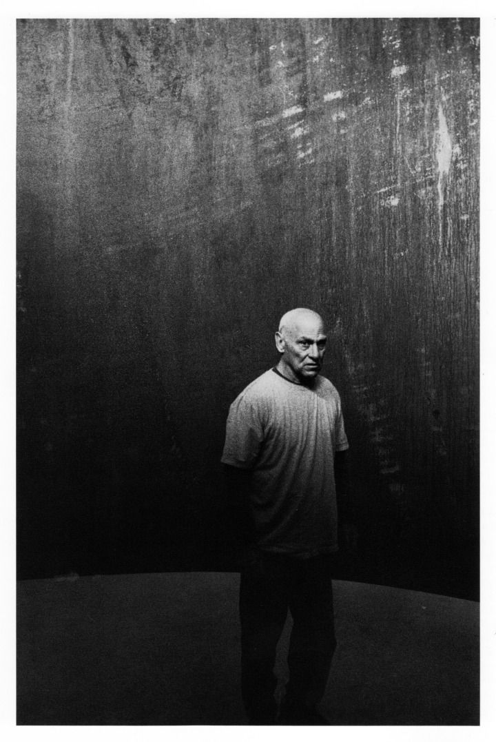Richard Serra, photographed by Robert Frank