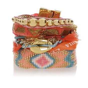 Bracelet brésilien Lovelyness - Hipanema - Nouvelle Collection et ventes privées - Ref: 1246779 | Brandalley