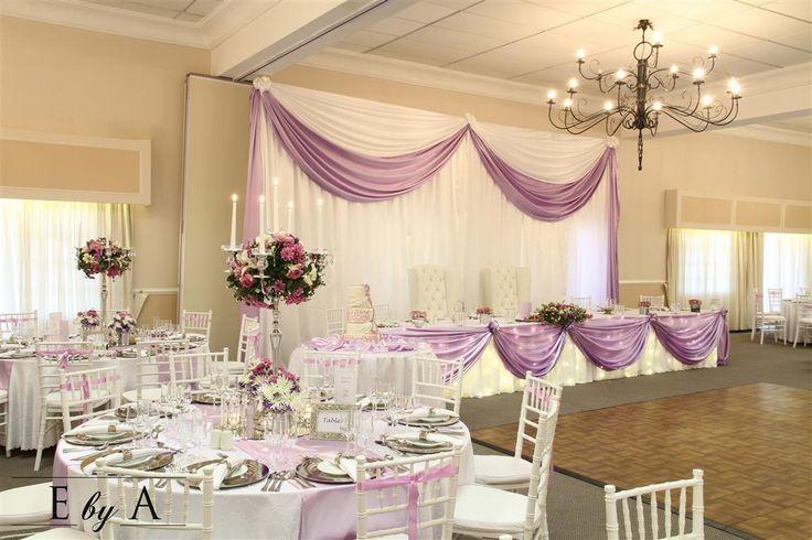 Main Table Décor for Weddings anne@ebya.co.za