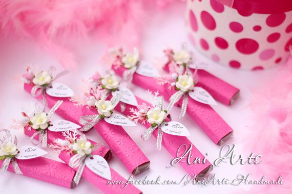 Custom Baby Shower Gifts Set of 20 It's A Girl Party by AniArts
