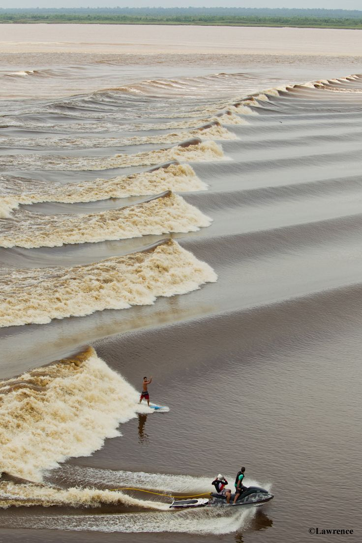 """The Seven Ghosts Emerge –  5 Rip Curl Searchers chase mesmerizing waves on the Seven Ghosts tidal bore, deep in the heart of the Indonesian jungle. Coming to www.ripcurl.com on April 11th…""""the most amazing Search trip in 20 years…"""""""