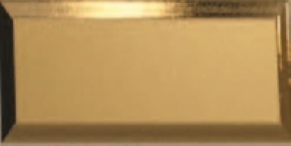 RIBESALBES Bisel Oro Brillo 10x20cm metrócsempe