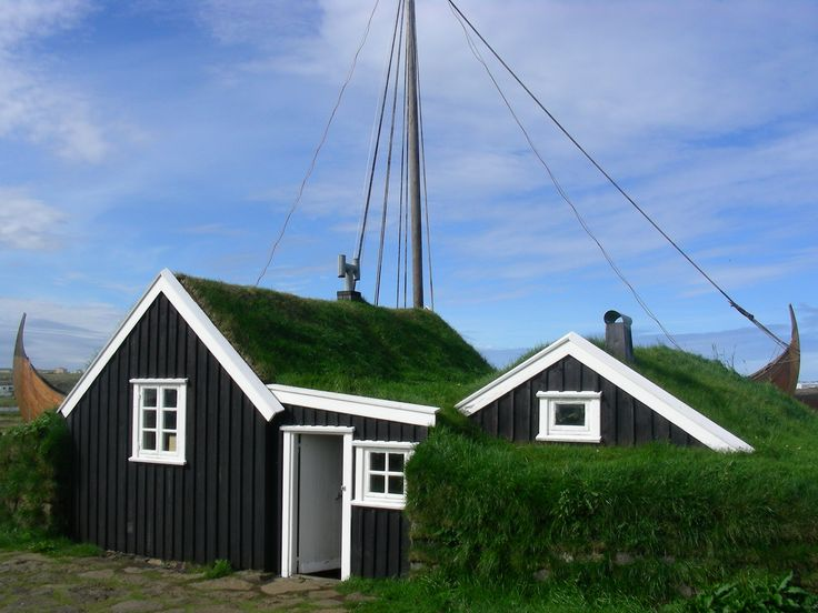 Typical Icelandic house